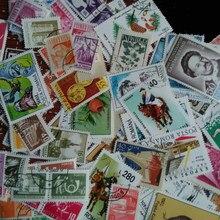 50 pçs/lote todos os diferentes romênia timbru especial comemorativo cancelado selos postais com pós marca para coleção