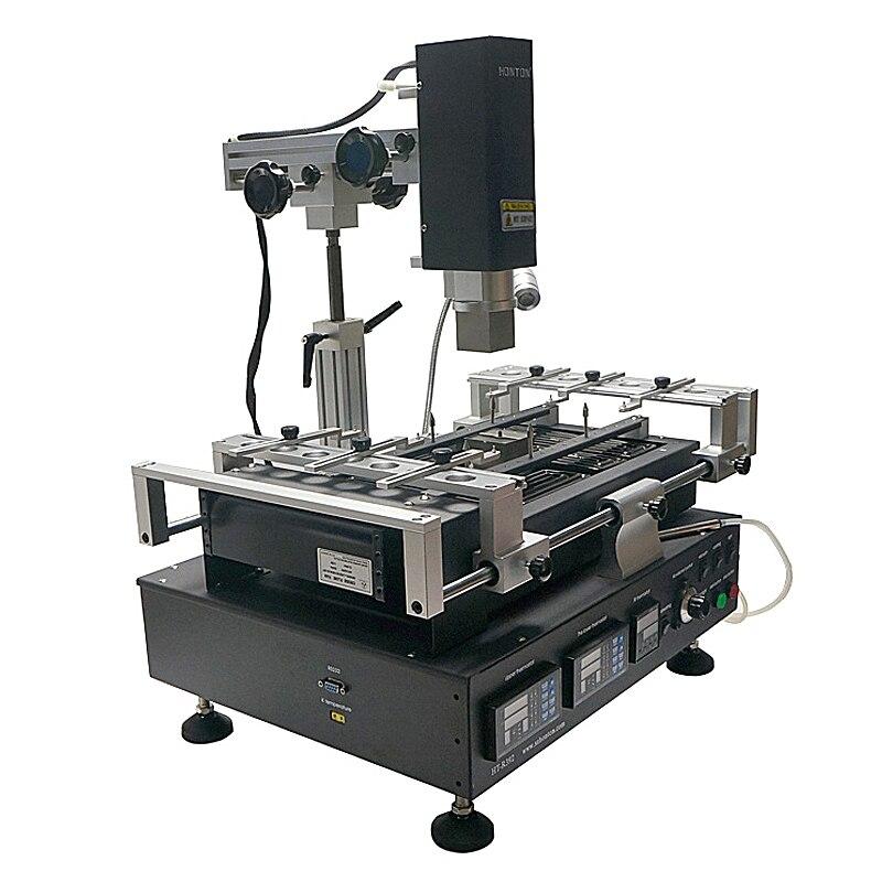 Honton HT R392 machine de soudage 3 zones de température infrarouge et air chaud sans plomb BGA station de reprise