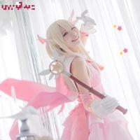 Anime Fate Illyasviel von Einzbern Cosplay Kaleid Liniowej Magical Girl Kawaii Mahou Shojo Różowy Kostium Japoński Anime Cosplay