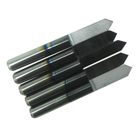 5 PCs TIN TiAIN Coated Carbide PCB Engraving CNC Bit Router Tool 90 Degree 0.2mm Machine Accessories