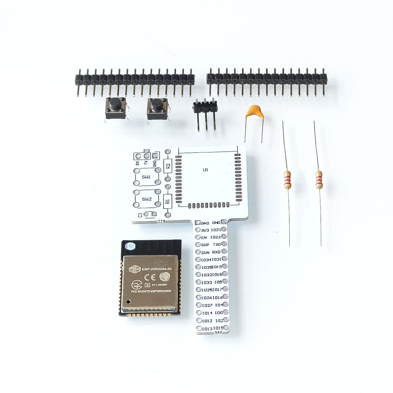 ESP32 rev1 (rev one) WIFI Bluetooth Breadboard Module kit esp32 ESP-32 Development boardESP32 rev1 (rev one) WIFI Bluetooth Breadboard Module kit esp32 ESP-32 Development board