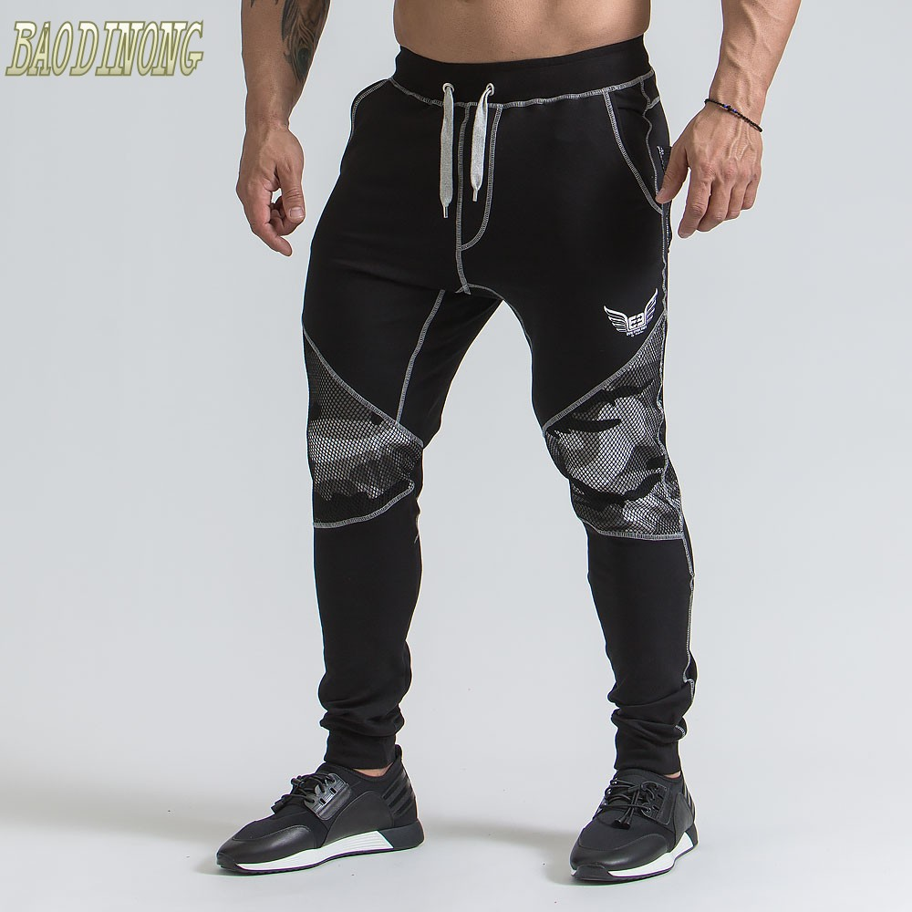 Men Casual Pants 2018 Male Brand Straight Trousers Camouflage Long Pants Cotton Sweatpants Jogger Tracksuit Funky Sweatpants