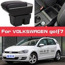 Leather Car Armrest For VOLKSWAGEN golf7 Arm Rest Rotatable saga leather car armrest for renault sandero arm rest rotatable saga