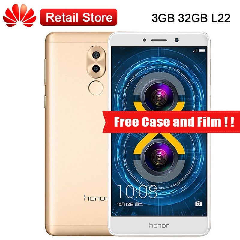 Global Huawei Honor 6X L22 3GB RAM 32GB ROM LTE Smartphone 5 5 Kirin 655 Octa