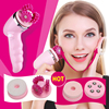 Deep Clean Electric Facial Cleansing Brush 3D Face Lift Massager 4 In 1 Waterproof Soft Beauty
