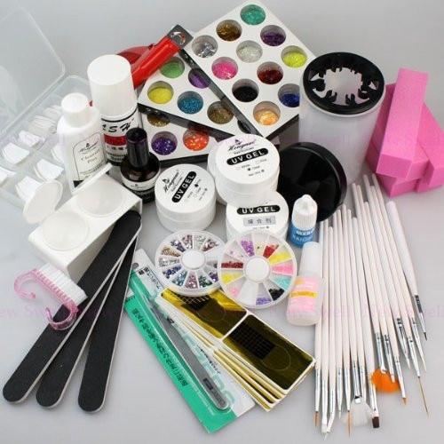 Venta caliente Polvo de Acrílico UV Gel Kit de Uñas Juego