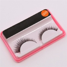 050 ten pairs of dress thick slim mascara handmade natural bare makeup false eyelashes factory direct +