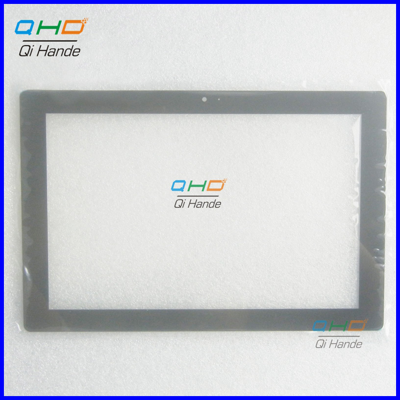 Black New Tablet Touch Screen For 10.1 inches PolyPad i10-W Touch Panel Digitizer Sensor Replacement Free Shipping s109 k109 cb990 touch screen display on the outside handwritten screen 10 1 inches tablet capacitance touch screen