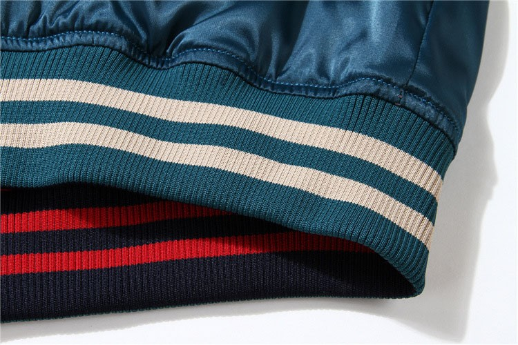 Aolamegs Japan Yokosuka Embroidery Jacket Men Women Fashion Vintage Baseball Uniform Both Sides Wear Kanye West Bomber Jackets (16)