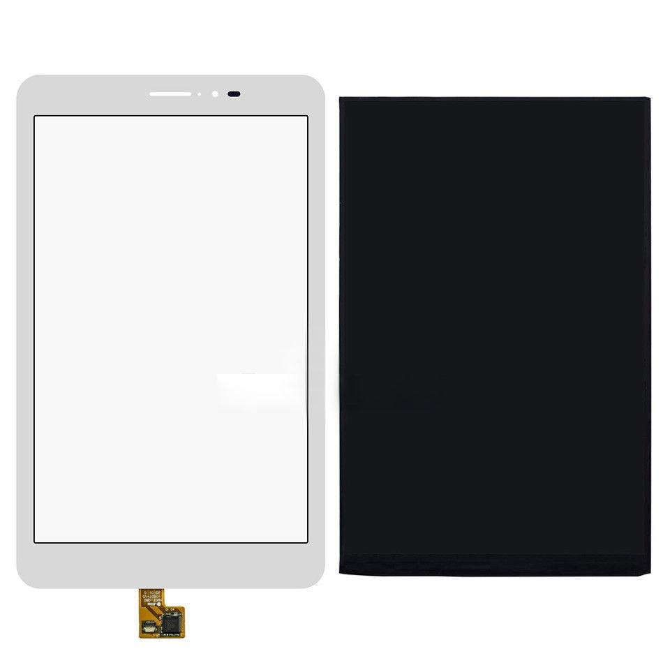 ФОТО For Huawei Mediapad T1 8.0 3G S8-701u S8-701 New Touch Screen Panel Digitizer Glass Sensor + LCD Display Screen Monitor Moudle