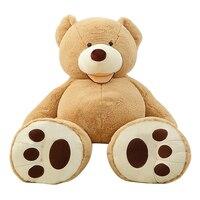 200 센치메터 거대한 크기 미국 거대한 곰 피부 테디 베어 코트 최고의 품질 도매