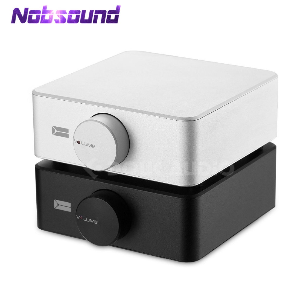 Nobsound Hi-Fi Dual Channel Balanced Audio HiFi Stereo Power Amplifiers Headphone Amp 80W*2 With 12V/10A Power Supply цена
