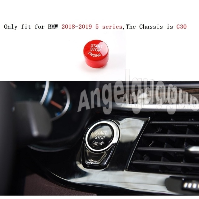 Angelguoguo Car Engine Start Stop Button Replace Upgrade