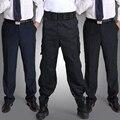 Nueva otoño/invierno pantalones gruesos trajes de propiedades de seguridad personal de seguridad uniforme de entrenamiento de verano pantalones de los hombres arropa el envío libre