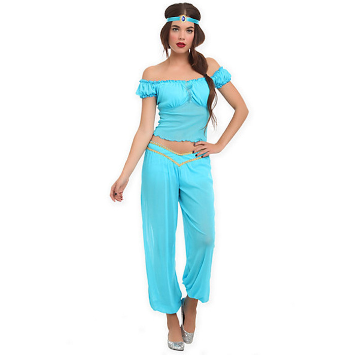 Online get cheap jasmine and aladdin costumes alibaba group - Costume princesse disney adulte ...