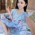 Pijama Плюс Размер Пижамы Женщины Pijama Лето Пижамы для Женщин, Шорты, Пижамы Ночь Костюм Пижамы Пижамы Femme Хлопок Pijamas