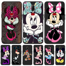 Luxury Mickey Mouse Minnie cute Custom For One plus 5 5T 7 Pro Oneplus 6 6T phone Case Cover Funda Coque Etui capa owl cartoon