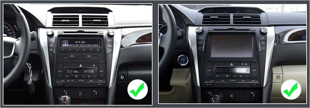 ZaiXi 2din Car multimedia Android Autoradio Car Radio GPS player For Toyota Camry Aurion 2011~2017 Bluetooth WiFi Mirror link1