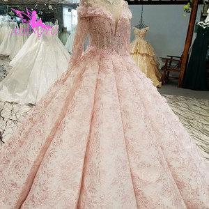 Image 4 - AIJINGYU Wedding Fashion Princess Gowns Two Piece White Plus Size Jumpsuit Designer Romantic Angel Gown Romantic Wedding Dress