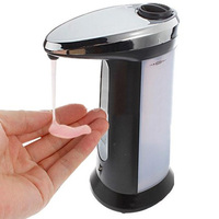 1 PC plástico ABS Venda Automática Soap Magia Hands-Free sensor Soap Dispenser Sabonete IA364 T150.5