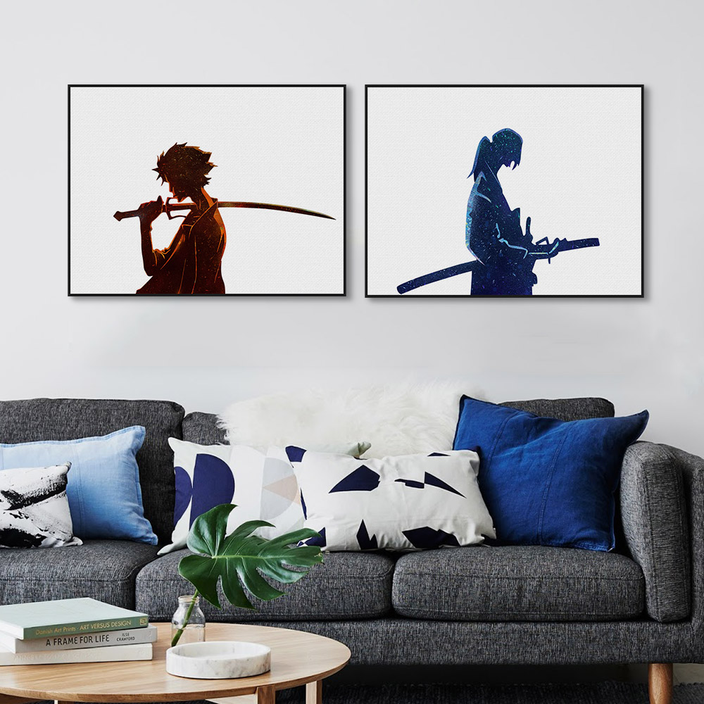 Samurai wall art reviews online shopping samurai wall for Asian home decor