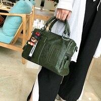 Real Leather Tote Bag Bolso Casual Designer Handbags High Quality 2018 New Bolsa Feminina Shoulder Bags Womens Bag