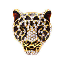 Leopard Head Car perfume Fragrances Air Conditioning Vent Freshener Purifier For Auto Interior Decoration