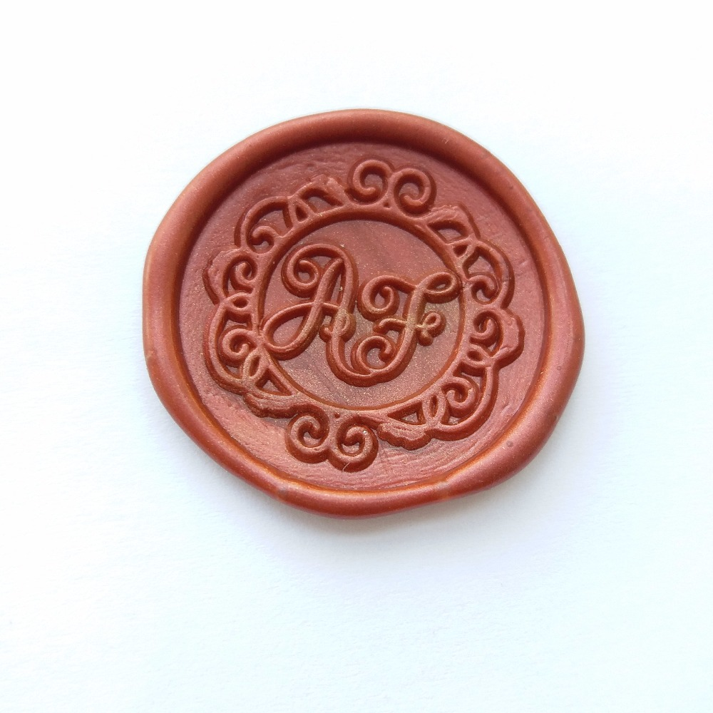 DIY customize double Name 2 initials personalized Letter stamp ...