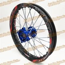 "1.60x14 인치 프론트 림 CNC 허브 알루미늄 합금 휠 림 1.60x14 ""인치 KLX CRF KTM Kayo Apollo BSE Pit Bike Dit Bike"