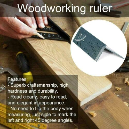 2019 Woodworking 3D Mitre Angle Measuring Square Size Measure Tool With Gauge & Ruler Tools Best Selling Drop Shipping Dropship2019 Woodworking 3D Mitre Angle Measuring Square Size Measure Tool With Gauge & Ruler Tools Best Selling Drop Shipping Dropship