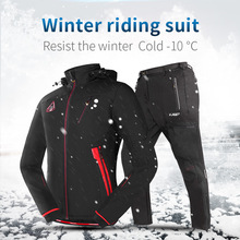 Sport Suit Clothing Cycling-Equipment Mountain-Bike MTB Long-Sleeves Waterproof Men's