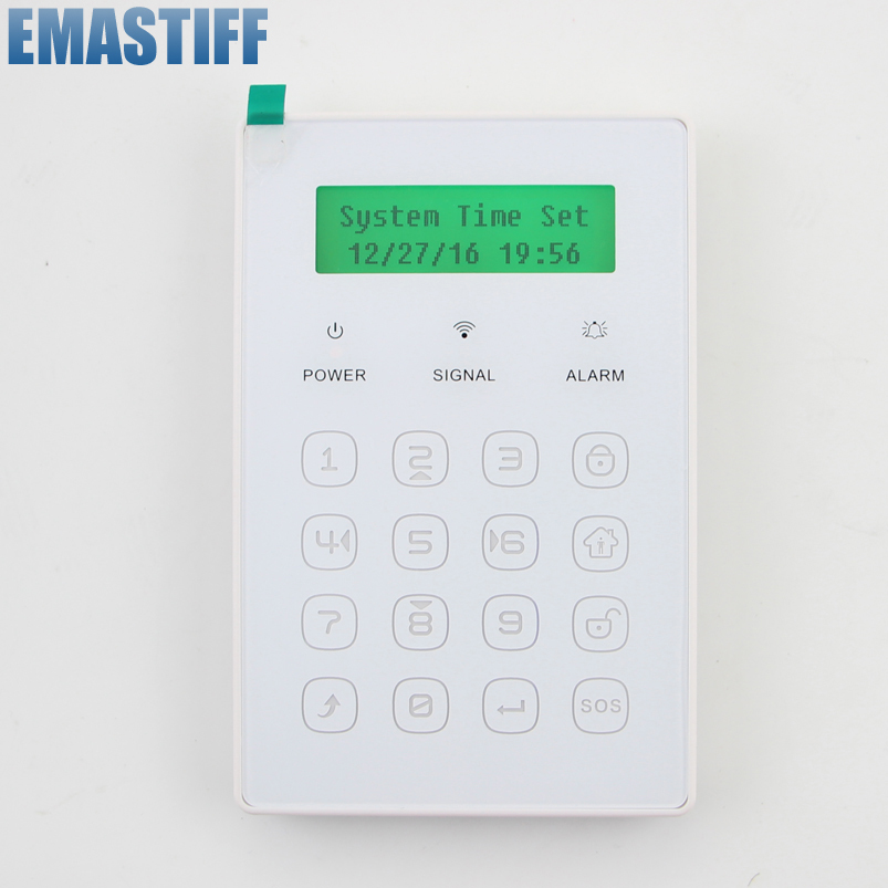 2016 New  Popular Free Shipping WirelessWireless Ultra-thin touch password Keyboard just for our GSM Alarm System 433MHz free shipping boruoss 2015 new fashion winter cotton coat women short single breasted coat boruoss w1292