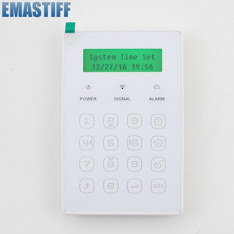 bilder für 2016 neu Beliebt Kostenloser Versand WirelessWireless ultradünne touch passwort Tastatur nur für unsere GSM Alarm System 433 MHz