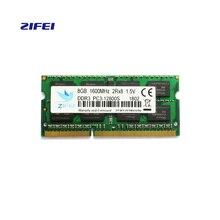 ZIFEI оперативной памяти ddr3 so dimm к dimm 2G1333 4 г 8 г ноутбук DDR 1600 Memoria DRAM Стик для ноутбук
