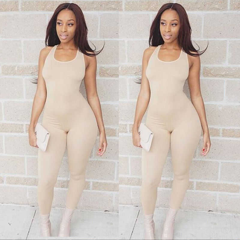 0138a592747a ... 2018 Sexy Women Sports Jumpsuit Yoga Gym Running Athletic Workout  Fitness Leggings Pants Jumpsuit Bodysuit Rompers ...