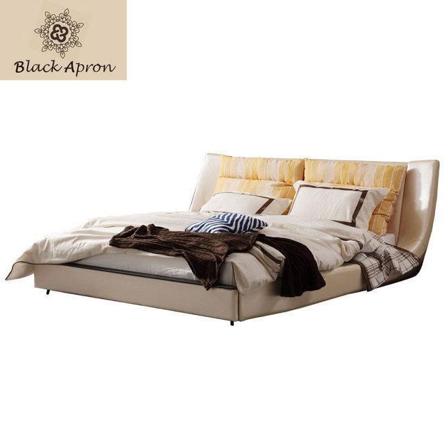 toin lit modern bedroom furniture beds frame china cabecero cama letto bett double huge queen size - Lit Queen Size