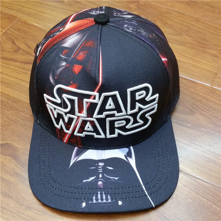 Movie Star Wars Hip-Hop Hat Embroidery Printed Punk Street Style Black White Hats Men Women Summer Outdoor Cap Dropshipping