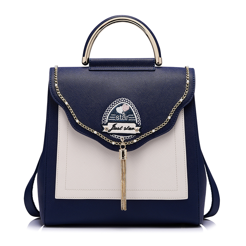 2017 Luxury Brand Designer Purse Shoulder Women Haps Tassel backpack School Bags For Teenagers Girls Female Travel BackPack luxury brand fashion designer jewelry flower purse shoulder women backpack school bags for teenager girls female travel backpack