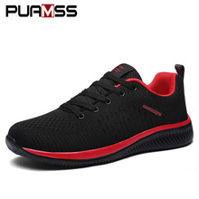 2018 New Mesh Men Casual Shoes Lac-up Men Shoes Lightweight Comfortable Breathable Walking Sneakers Tenis Feminino Zapatos(China)