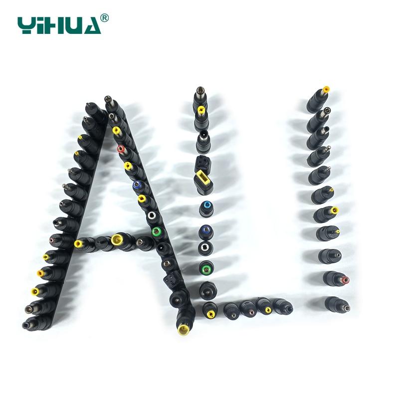 30pcs/Set Universal DC Power Supply Adapter Connector Plug DC Conversion Head Notebook Power Plug  Power Adapter Converter