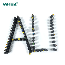 30pcs Set Universal DC Power Supply Adapter Connector Plug DC conversion head Notebook power plug Power