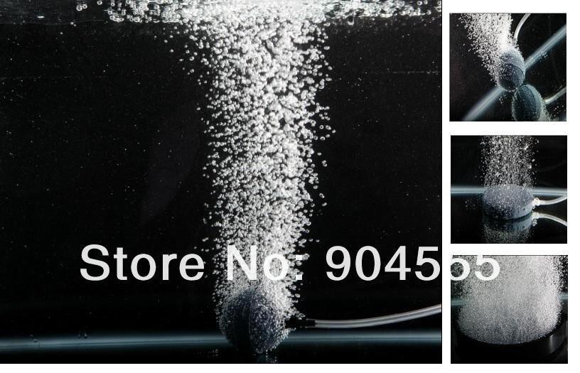 Аквакультуры пруд кислородсодержащих воздуха камень, аквариум аэрации камень Овощей Шайба Озон диффузор диаметром 30 мм