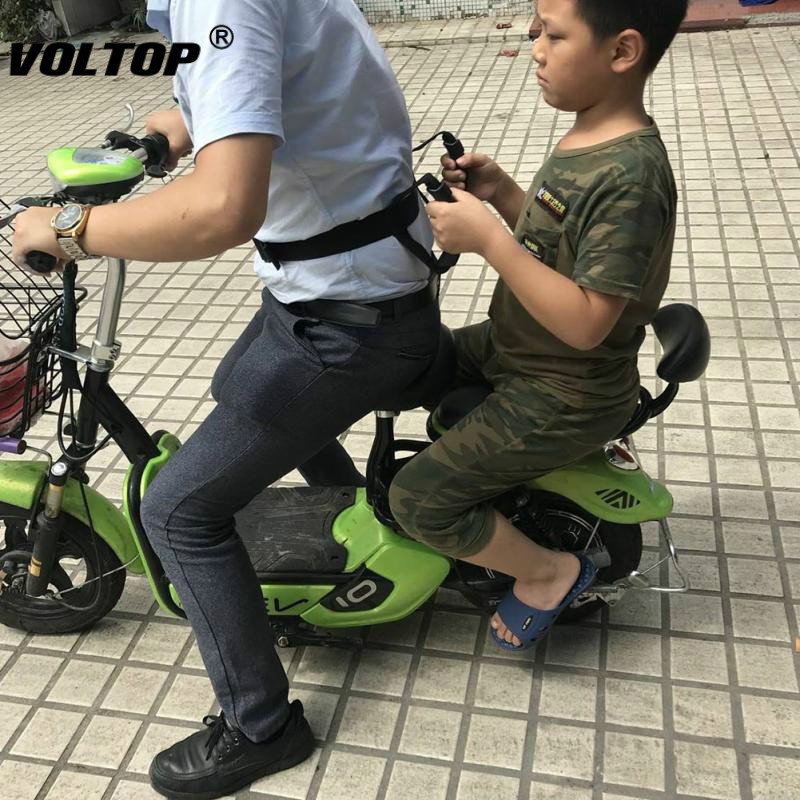 Seat Belt Cover Bike Safety Belt Protector Grasping Motorcycle Children Passenger Adjustable Seat Sling Belt in Seat Belts Padding from Automobiles Motorcycles