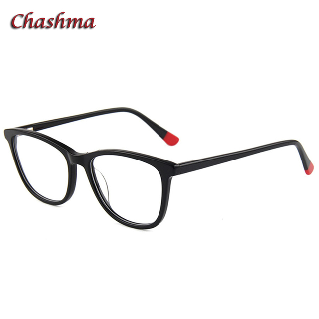 61e4eae1c8c Chashma Brand Quality Acetate Eyewear Women and Men Big Circle Black Optical  Spectacle for Myopia Glasses