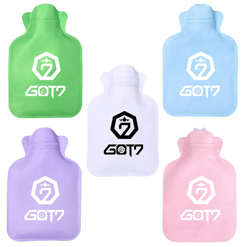 Sensible 1pc Cute Twice/got7/exo/blackpink Cartoon Fashion Chic Hand Warmer Portable Water-filled Type Warm Hand Treasure