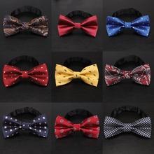 YISHLINE 65 стильный большой галстук-бабочка для мужчин, мужские галстуки, Мультяшные буквы, полосы, однотонный галстук, модный смокинг, свадебные, вечерние, аксессуары