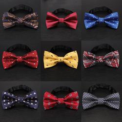 YISHLINE 65 стиль большой галстук-бабочка для мужчин мужские пятнистые Галстуки мультфильм письмо полосы Одноцветный галстук Мода смокинг