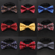 YISHLINE 65 style LARGE BOW TIE FOR MEN MAN STAIN TIES CARTO