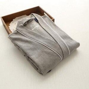 Image 5 - Nóng Slae Bánh Cotton Kimono Áo Tắm Nữ Gợi Cảm Plus Kích Thước Hút Nước Phù Dâu Áo Choàng nữ Đầm Bầu Thu Đông Áo Dây Femme