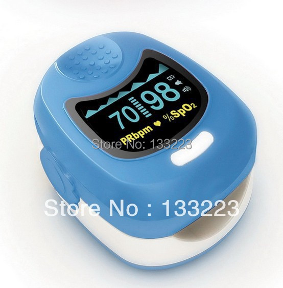 Three Colors Choice KIDS CHILD FINGERTIP OXIMETER CMS50QB PULSE SPO2 BABY HEART RATE MONITOR OLED CHILDREN sportguard fingertip pulse oximeter spo2 heart rate monitor orange